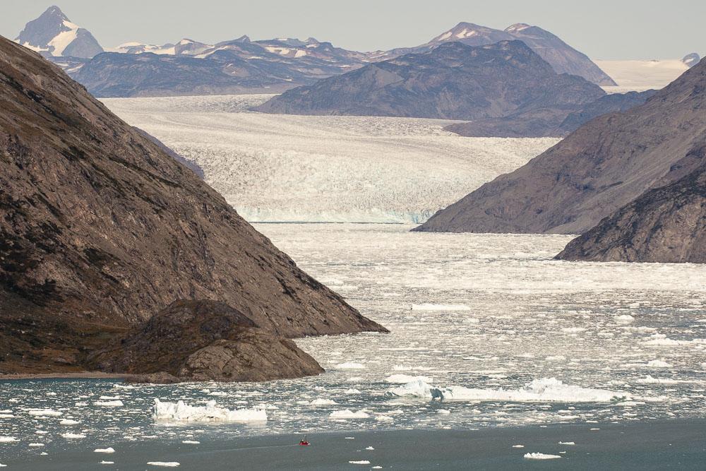 Qooroq Glacier Narsarsuaq. Photo: Bo Normander